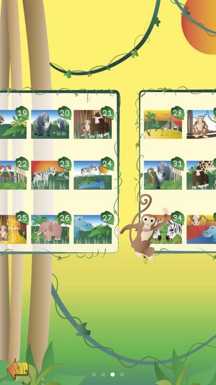 Animal Jigsaw Puzzle:JunglePRO screenshot-3