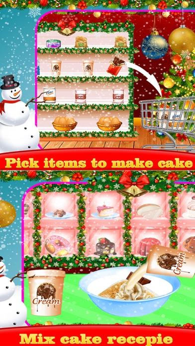 Christmas Sweet Cake Maker screenshot two