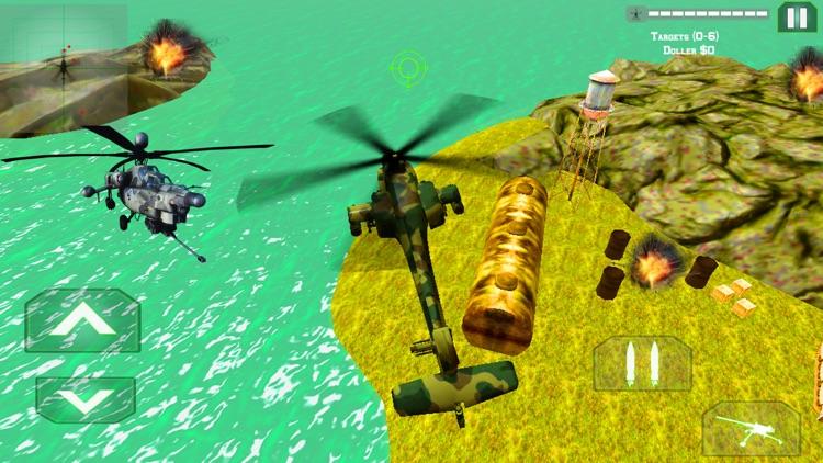 Helicopter Gunship Air Strike screenshot-4