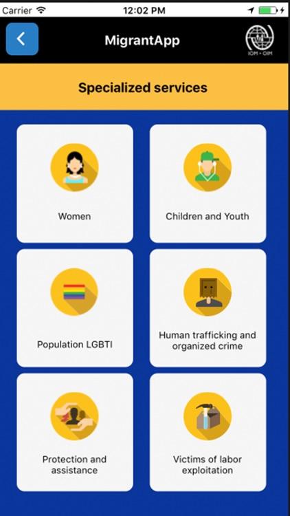 Migrant App screenshot-3
