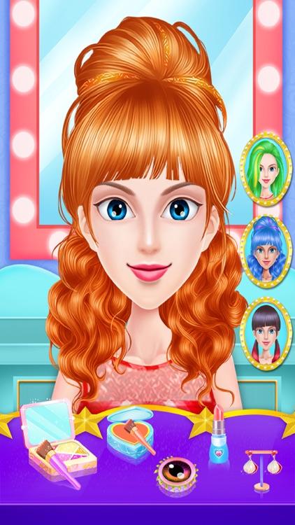 Braided Hairstyle Makeup Salon screenshot-7