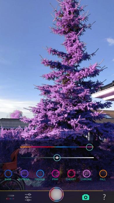 Full Spectrum Camera Screenshots