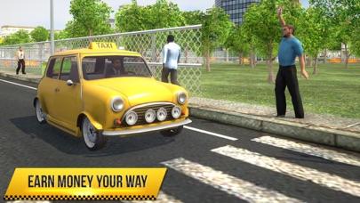 Taxi Simulator 2018 screenshot 1