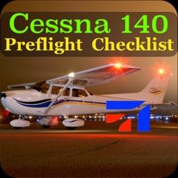 Preflight Cessna 140 Checklist
