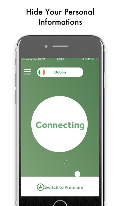 Hello VPN: Super Express Proxy Screenshot on iOS