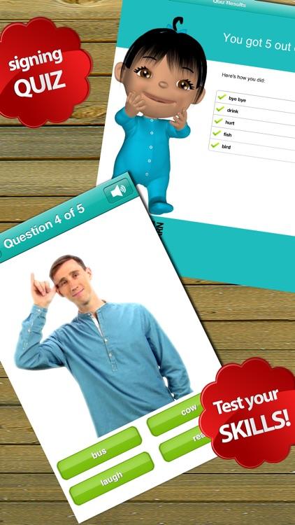Baby Sign Language Dictionary - Lite Edition screenshot-4