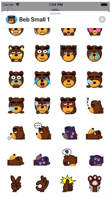 Beb Small 1 Stickers Screenshot