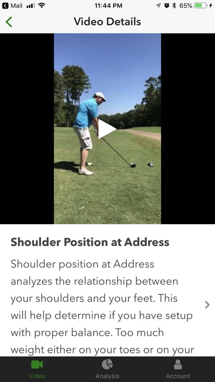Swingbot: Swing Analysis Coach