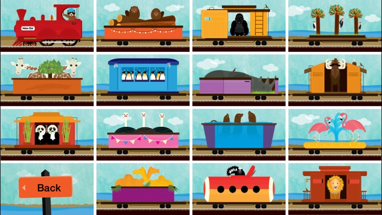 Peek-a-Zoo Train screenshot-4