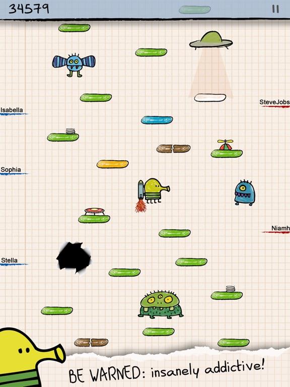 Doodle Jump HD Screenshots