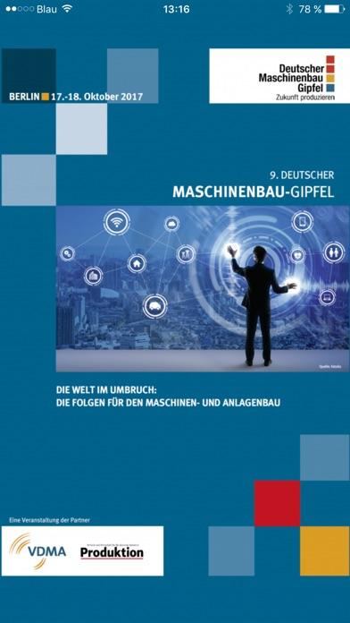 Deutscher Maschinenbau-GipfelScreenshot von 1