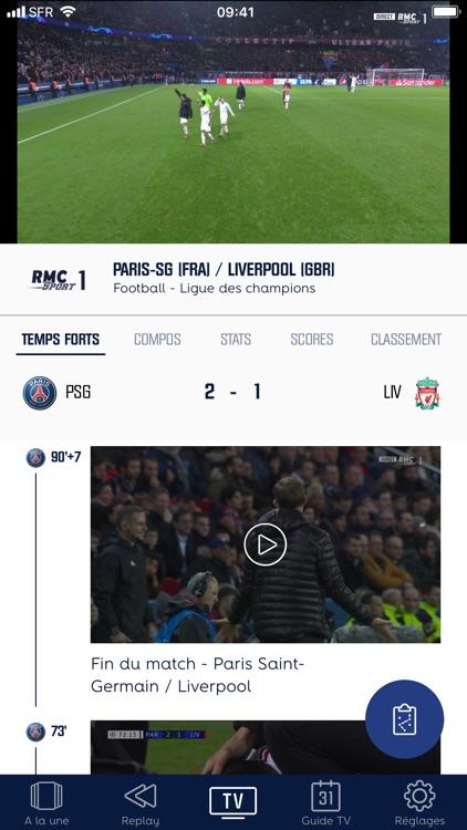 RMC Sport screenshot-3
