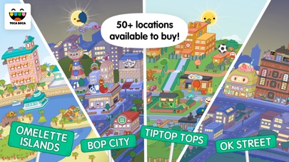 Toca Life World: Build stories screenshot 2