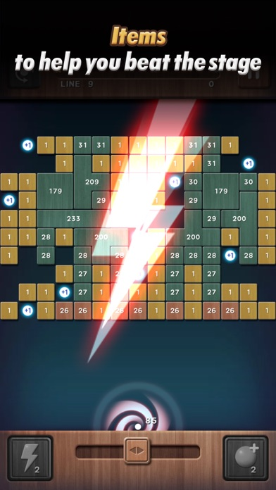 Swipe Brick Breaker: The Blast screenshot 5