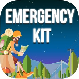 Emergency Kit - Compass Map and Sound Level
