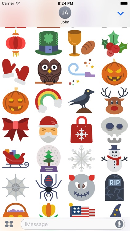 The Holidays Sticker Pack