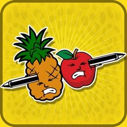 Tap to Hit: Pen VS Fruit