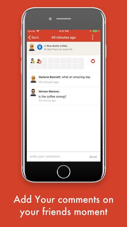 Moments Social screenshot-4