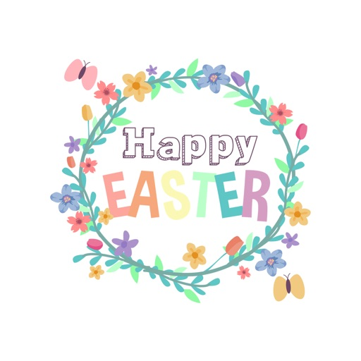 Cute Easter Animated Stickers