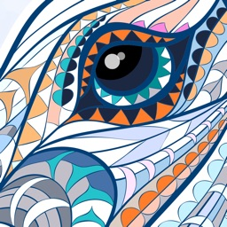 Colouring Line: Coloring Book for Adults