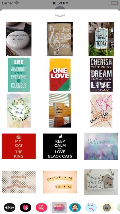 Quotable Stickers