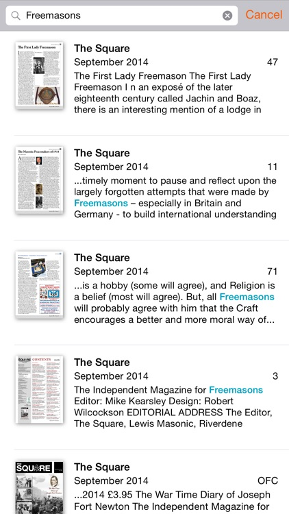 The Square Magazine screenshot-3