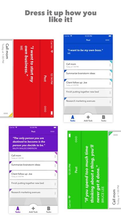Pest: From Goals to Success screenshot-4