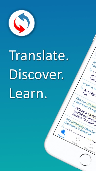 Screenshot for Reverso translate and learn in Japan App Store