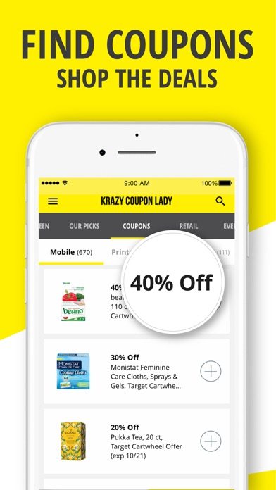 Krazy Coupon Lady: Shop & Save for Windows