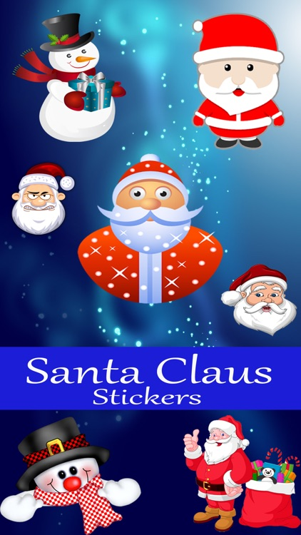 Santa Claus  Awesome Sticker