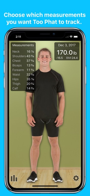 too phat visual weight loss をapp storeで