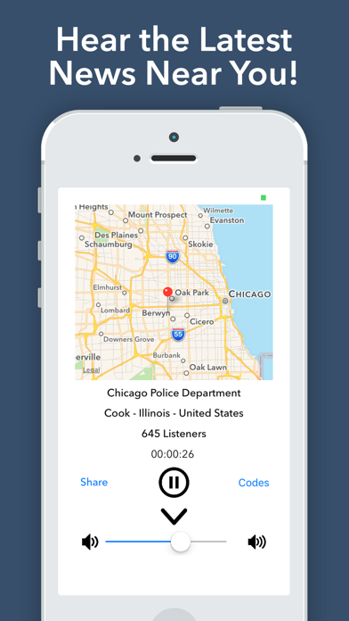 Police Scanner Radio - Pro Screenshot