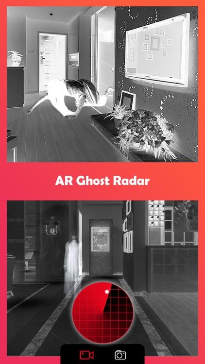 Ghost Lens AR Fun Video Editor screenshot-3
