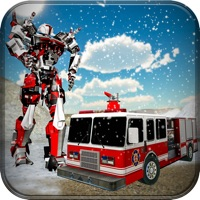 Fire Truck Robot Car Transform