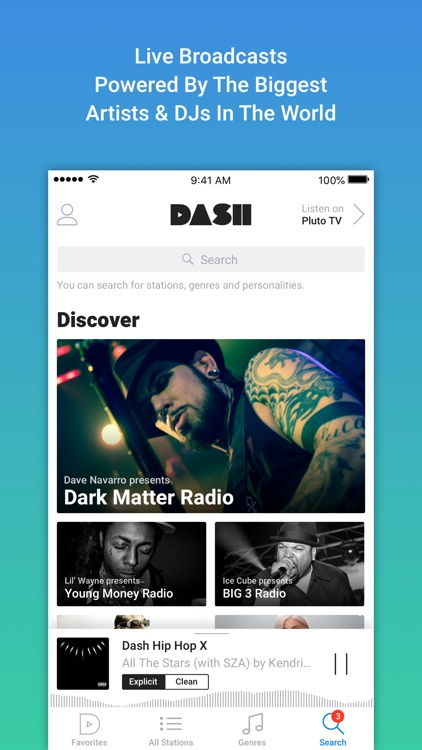 Dash Radio screenshot-1