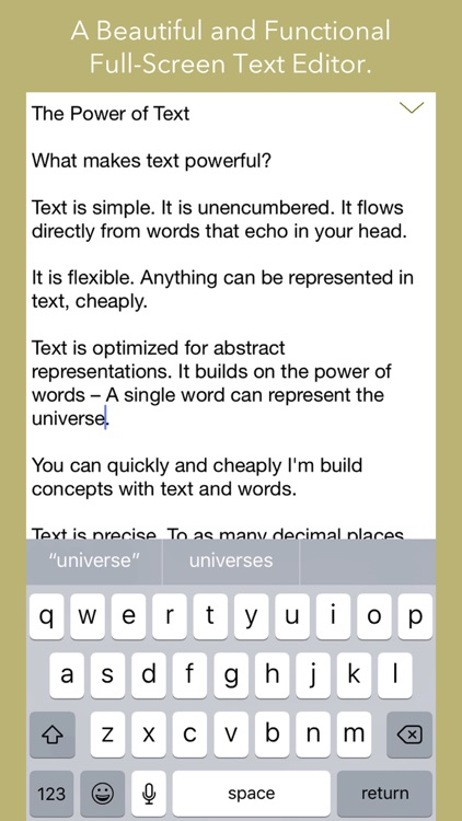 Text Editor by Qrayon