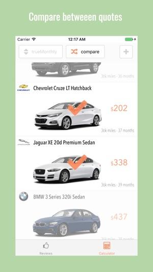 car leasing calculator
