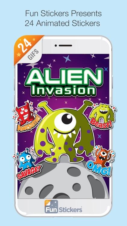 Alien Invasion iSticker