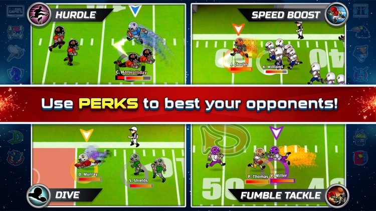 Football Heroes Pro Online - NFL Players Unleashed screenshot-3