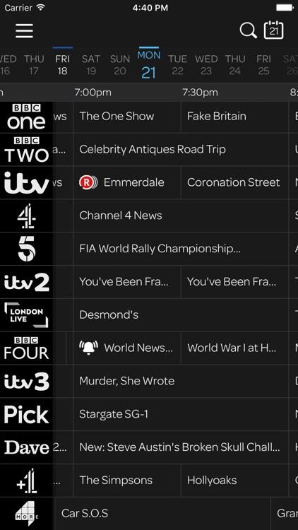 TalkTalk TV Planner screenshot-3