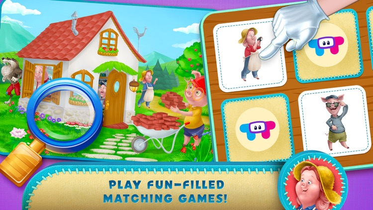 Three Little Pigs Adventure screenshot-4