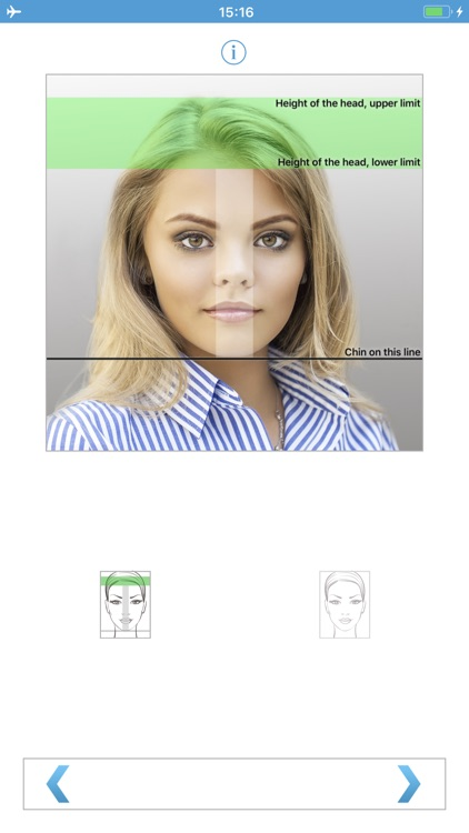 Biometric Passport Photo screenshot-0