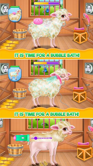 Baby Sheep Care Screenshot