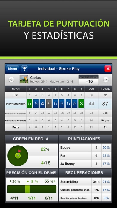 Screenshot for Mobitee Golf GPS Medidor in Mexico App Store