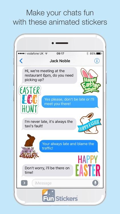 Easter iSticker screenshot-3