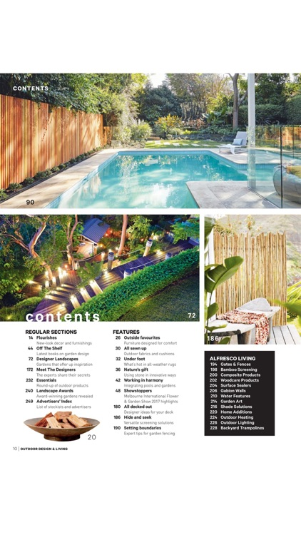 Outdoor Design & Living Magazine - Innovative Design and Construction for Outdoor