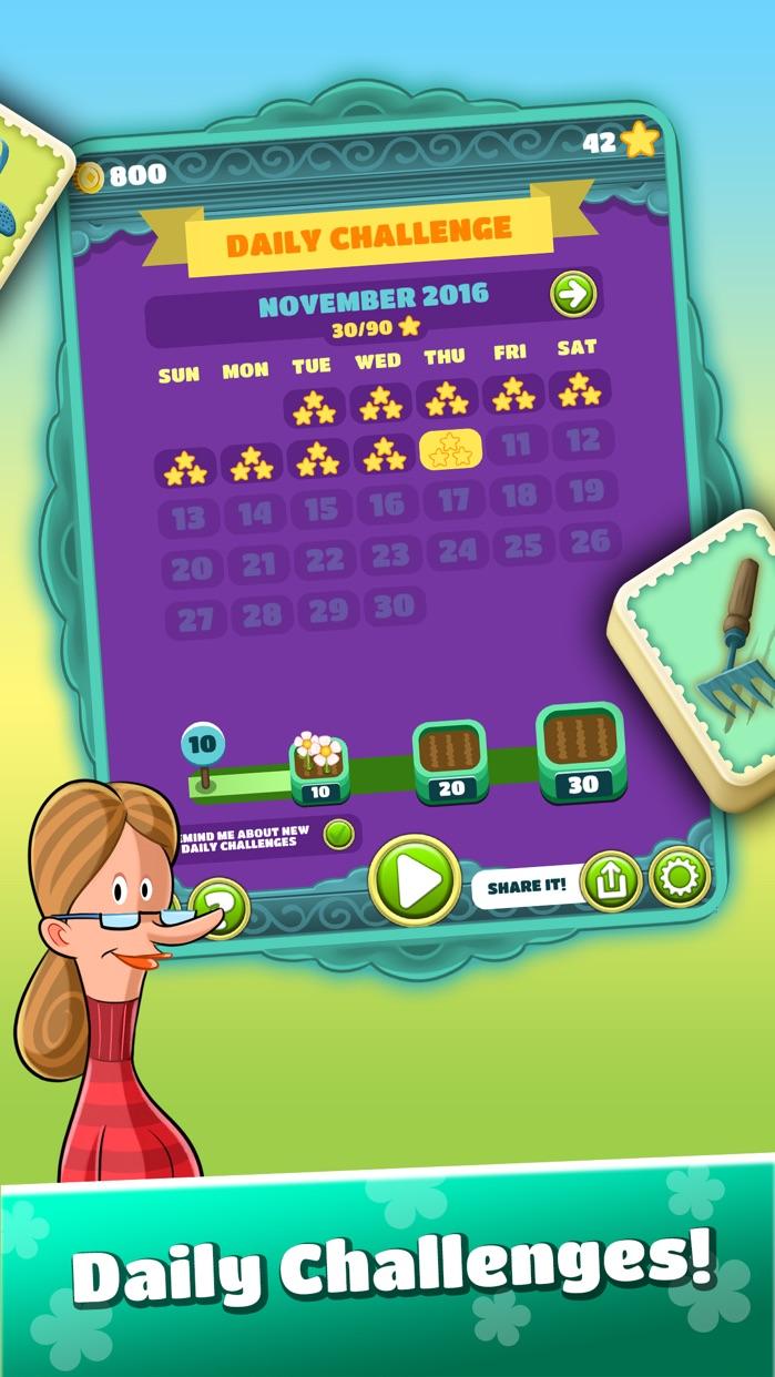 Mahjong Flower Garden Screenshot
