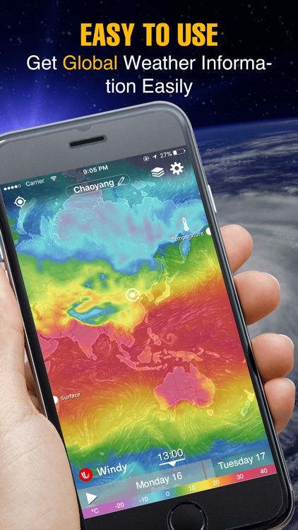 Live Global Weather Map.Weather Radar Live Satellite By Amber Mobile Limited