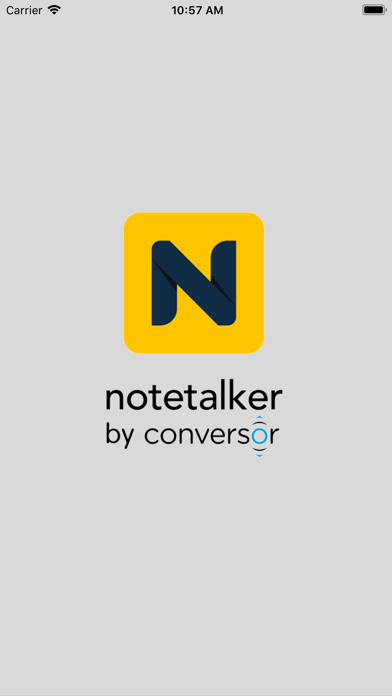 Notetalker-make better notes screenshot one