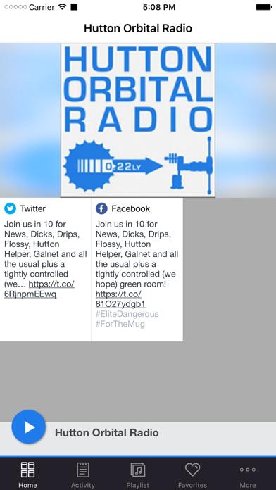 Hutton Orbital Radio screenshot one